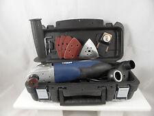 OSCILLATING MULTIFUNCTION CUTTER GRINDER SANDER SCRAPER 230V CASE POWERFUL 250W