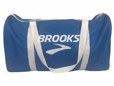"VTG Brooks Running Duffle/Gym Bag - Blue/White - 18"" - Small/Medium"