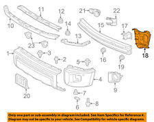 TOYOTA OEM 14-18 Tundra FRONT BUMPER-Side Extension Right 521410C030