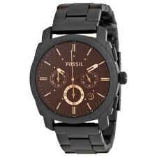 Fossil Machine Chronograph Dark Brown Dial Men's Watch FS4682