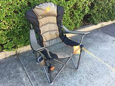 2 x OZ Tent King Goanna camping chair 200kgs weight rated