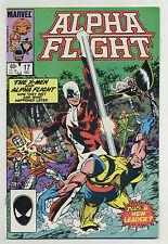Alpha Flight #17 1984 Wolverine X-Men John Byrne Marvel p
