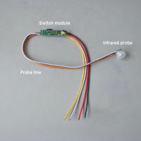DC5-24V 1A Auto PIR Bewegung Infrarot Licht Box Schrank Sensor Detektor Schalter