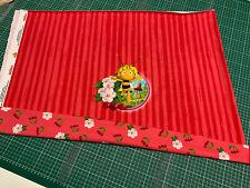 "Jersey "" Panel "" - Biene Maja - Kirschen - rot - Kinderstoff"