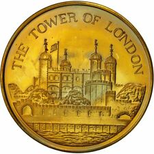[#553814] United Kingdom , Medal, The Tower of London, MS(63), Bronze