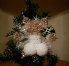 Penis Snowflake Ornament, gay ornament, xrated ornament