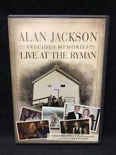 Alan Jackson: Precious Memories - Live at the Ryman (DVD, 2006) Nashville, TN