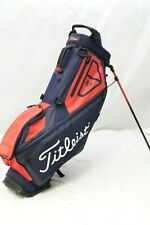 *Used* Titleist Players 4 Stand Golf Bag (Navy/Red) 4-Way Divider Stand Bag