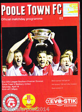2014/15 POOLE TOWN V BANBURY UNITED 14-04-2015 Southern League Premier