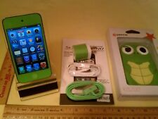 Apple iPod Touch 4th Gen Green 8GB Fully Functional, 9 out of 10 stars, +Bundled