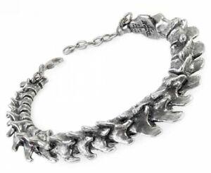 Alchemy England - Vertebrae Bracelet, Spine Bones, Gothic Pewter Metal Punk Gift