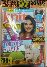 Knit Now UK Issue 75 Complete Knitting Kit Yarn Kit & Needles FREE SHIPPING sb