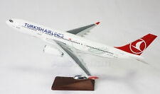 Turkish Airlines A330 Large Plane Model Airplane Apx 47Cm Solid Resin