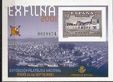Spain Prueba Edifil nº 75 EXFILNA 2001 Vigo