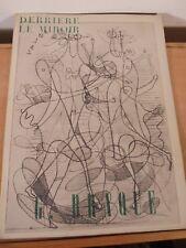 Derrière Le Miroir Revue Art Moderne XX Georges Braque n°71-72 Maeght Edition