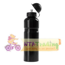 Coyote 750ml Aluminium Water Bottle Bike Bicycle Lightweight 4 Colours Db290 Black