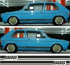 VW Golf Mk1 side stripes decals stickers graphic any colours Gti 1.8T