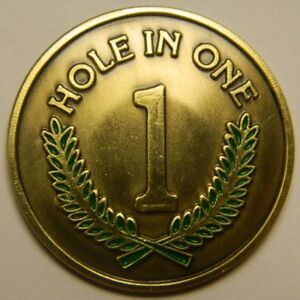 Unique Magnetic Hole in One Golf Ball Marker