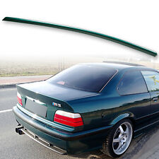 Painted Rear Trunk Lip Spoiler For BMW E36 3-Series 91-98 Coupe Boston Green 275