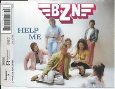 BZN - Help me CD SINGLE 2TR (MERCURY) 1990 HOLLAND RARE!!