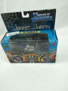 Jesse James Muscle Machines 1:18 Scale West Coast Choppers  El Diablo II Purple/