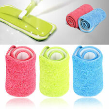 Useful Green Household Dust Cleaning Reusable Microfiber Pad For Spray Mop
