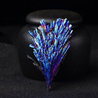 1*Natural Quartz Crystal Rainbow Titanium Cluster Mineral Specimen Healing Reiki