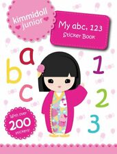 KIMMIDOLL JUNIOR ___ MY ABC'123 STICKER BOOK ___ BRAND NEW ___ FREEPOST UK