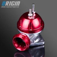 2.5 INCH UNIVERSAL V-2 ADJUSTABLE TYPE-RS S TURBO BLOW OFF VALVE BOV RED