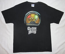 Guitar Hero Shirt Large I Rock Old School 2 Sided PS2 PS3 PS4 XBOX 360 Wii XBONE