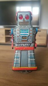 Vintage 1960's Japanese Tin Plate KO Robot