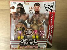 WWE Mattel Macho Man Randy Savage vs. CM Punk Battle Pack Series Figures