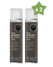 2 x Hairfor2 Thickening Spray 400 ml - Pérdida Compresor a granel Aumento cabell