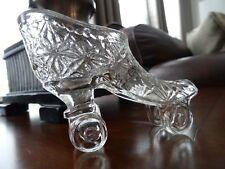 Central Glass Company DAISY Finecut ROLLER SKATE SHOE Figurine