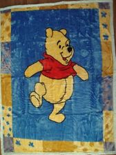 Disney Winnie the Pooh King Single Mink Blanket 2.8kg