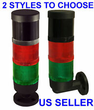 Industrial Signal Tower Safety Alarm Light With Horn RED & GREEN