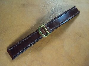 Cartier leather strap watch band hand Made In Taiwan Cheergiant straps卡地亞手工錶帶訂製