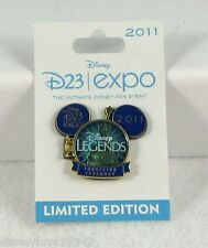D23 EXPO 2011 PIN Disney Legends Ceremony 1st Time Disneyland Pin Opens