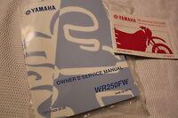 YAMAHA WR250 FACTORY SERVICE MANUAL GENUINE OEM