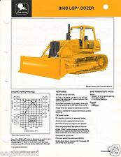 Equipment Brochure - John Deere - 850B LGP - Crawler Bull Dozer - 1989 (EB415)