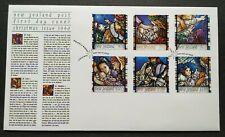 1996 New Zealand Christmas Celebration 6v Stamps FDC