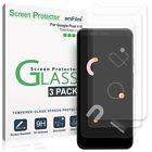 Google Pixel 4 XL Screen Protector (3 Pack), amFilm Premium Real Tempered Glass
