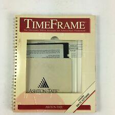 Ashton-Tate Time Frame Electronic Office Assistant for Ashton-Tate's Framework