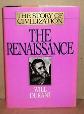 THE RENAISSANCE BOOK #5 FROM THE STORY OF CIVILIZATION BY WILL DURANT