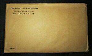 1960 Proof Set Treasury Department United States Mint Philadelphia COA