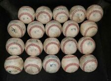 (20) MLB Used Baseballs lot Manfred balls