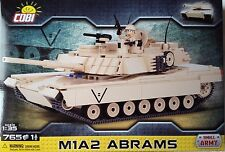 Cobi Small Army US Main Battle Tank M1A2 Abrams With 1 Minifigures Toy Bricks
