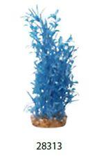 Aqua One A1-28313 Plastic Plant Hygrophila Blue Large For Aquarium & Reptiles