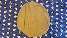 US NAVY USN OFFICERS KHAKI CANVAS SERVICE UNIFORM HAT COVER