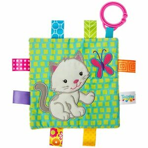 "Taggies Crinkle Me Baby Toy, Kitten, 6 x 6"""